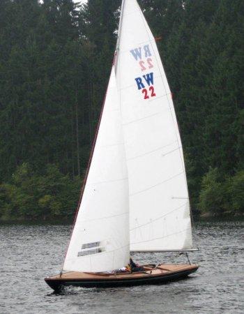 RW 22 auf dem Wasser