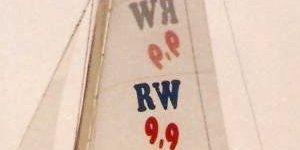 RW 9,9 Segel